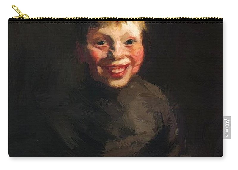 Fisherman Carry-all Pouch featuring the painting Fisherman Daughter 1910 by Henri Robert