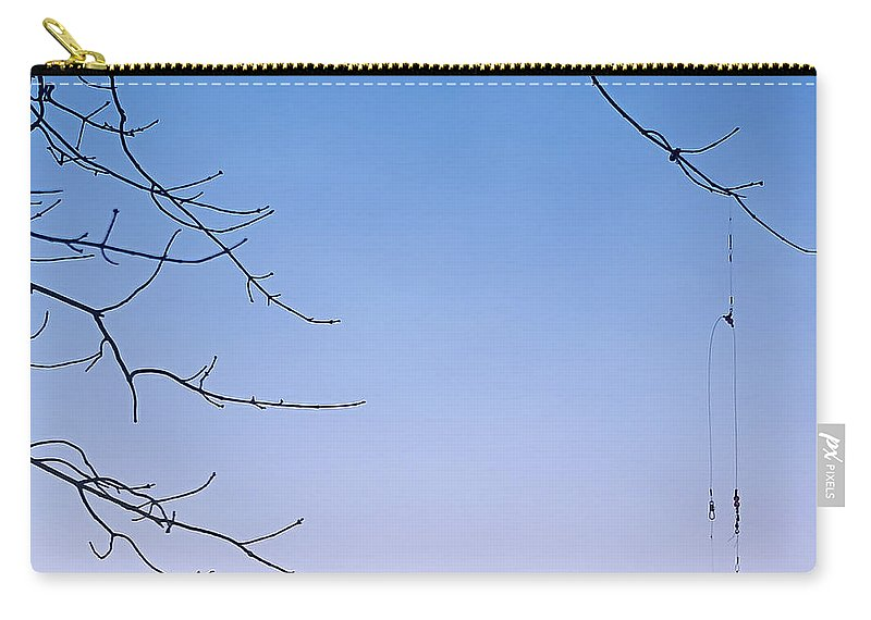 2d Carry-all Pouch featuring the photograph Fisherman's Trap by Brian Wallace