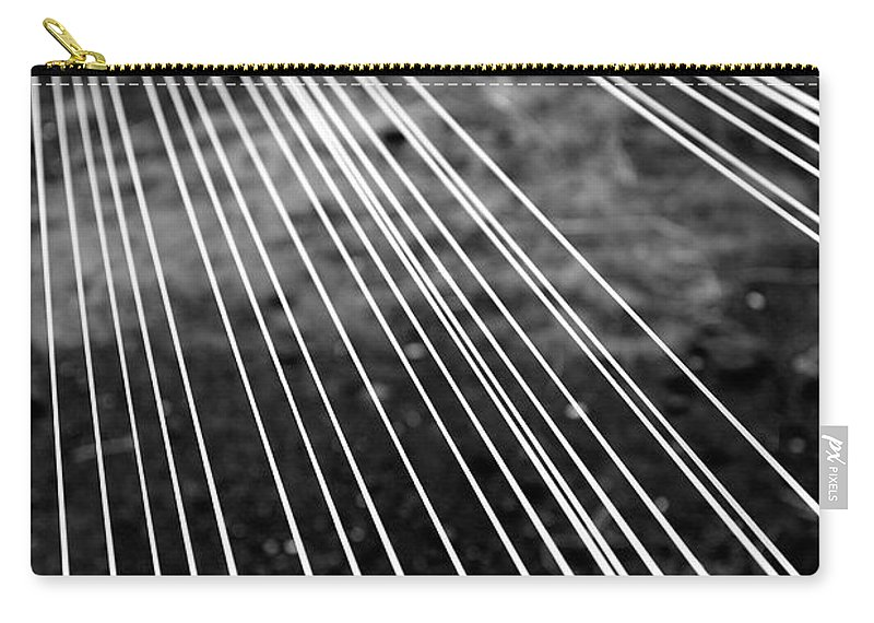 Abstract Carry-all Pouch featuring the photograph Fishing Lines by Gaspar Avila