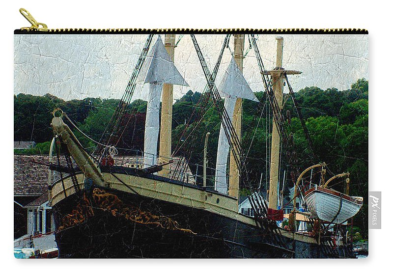 Antique Carry-all Pouch featuring the painting Fit And Trim by RC DeWinter