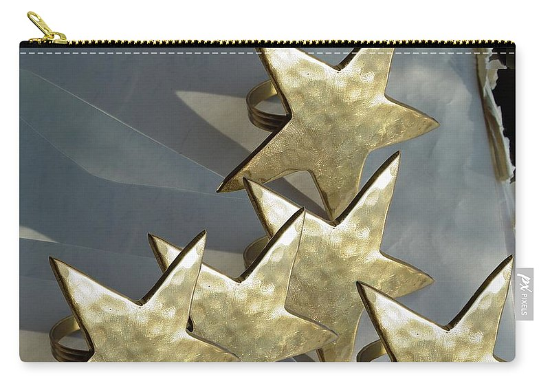 Stars Carry-all Pouch featuring the photograph Five by Ron Bissett