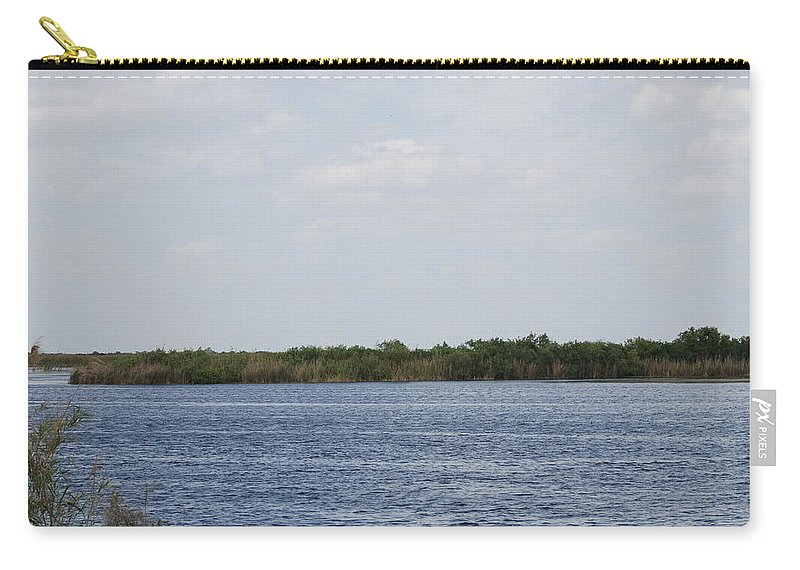 Water Carry-all Pouch featuring the photograph Fla Everglades by Rob Hans