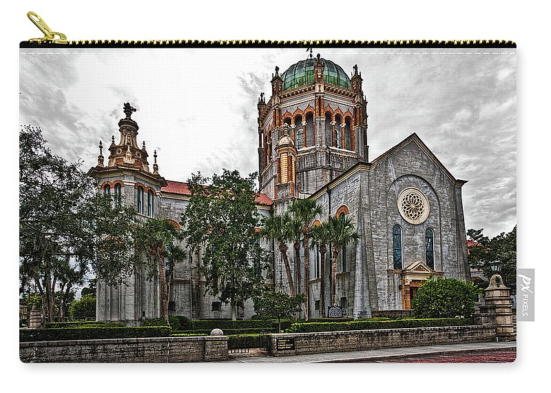 Church Carry-all Pouch featuring the photograph Flagler Memorial Presbyterian Church 2 by Christopher Holmes