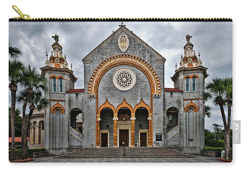 Church Carry-all Pouch featuring the photograph Flagler Memorial Presbyterian Church by Christopher Holmes