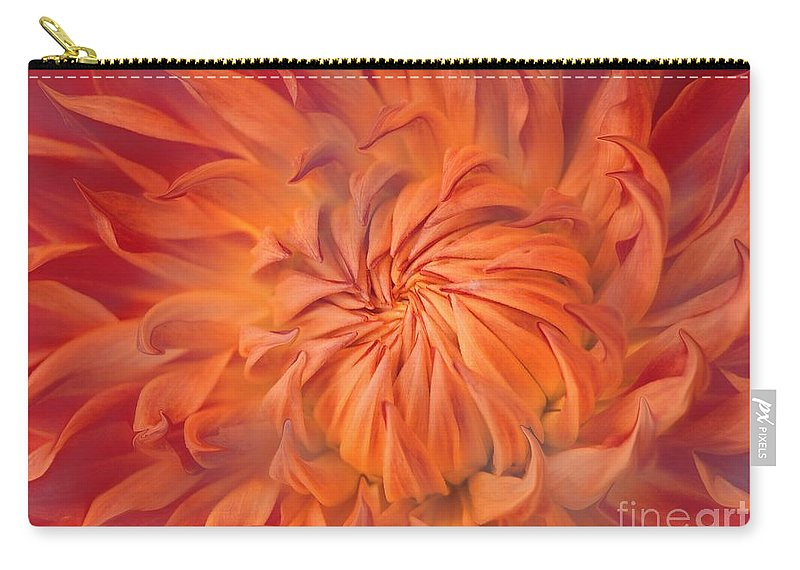 Flower Carry-all Pouch featuring the photograph Flame by Jacky Gerritsen