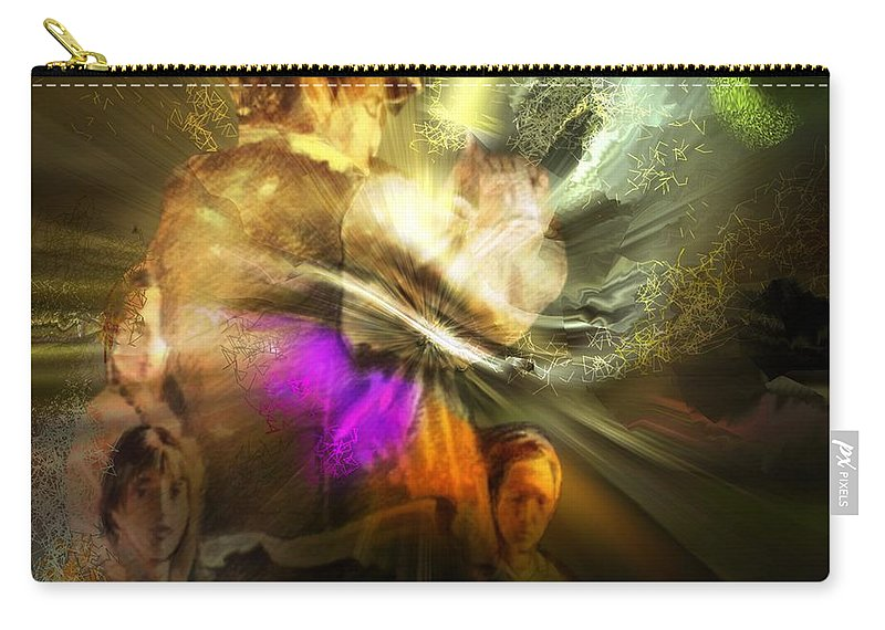 Spain Carry-all Pouch featuring the painting Flamenco by Miki De Goodaboom
