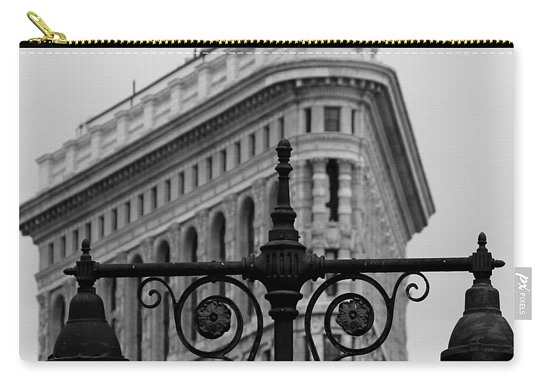 New York Carry-all Pouch featuring the photograph Flatiron Building New York by Andrew Fare