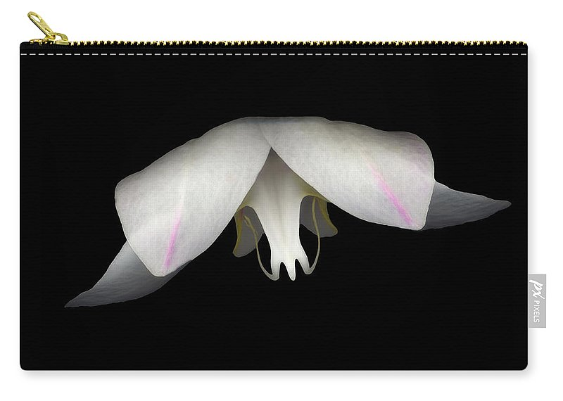 Flower Carry-all Pouch featuring the photograph Flight by Heather Kirk