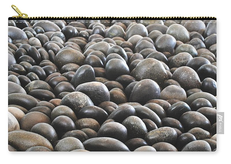 Rocks Carry-all Pouch featuring the photograph Floor Of Rocks by Jost Houk