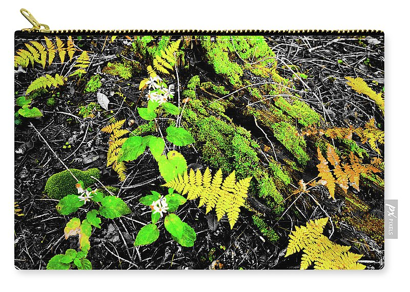 Local Parks Carry-all Pouch featuring the photograph Flora by Aaron Geraud