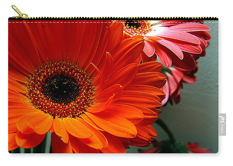 Clay Carry-all Pouch featuring the photograph Floral Art by Clayton Bruster