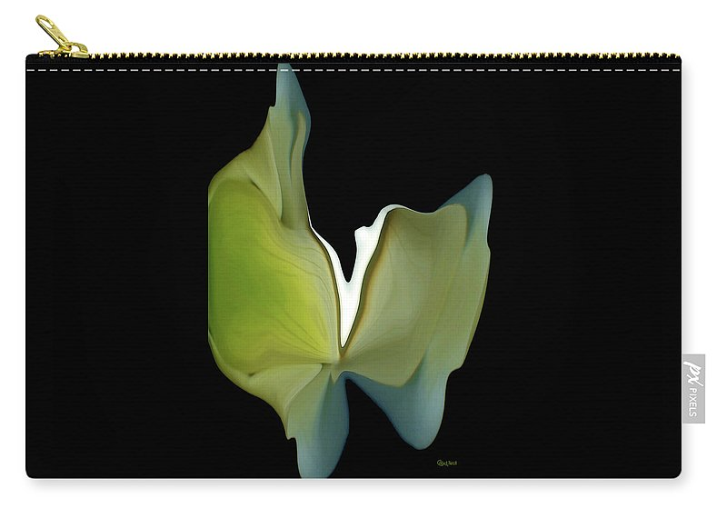 Floral Carry-all Pouch featuring the photograph Floral Butterfly by Carel Schmidlkofer