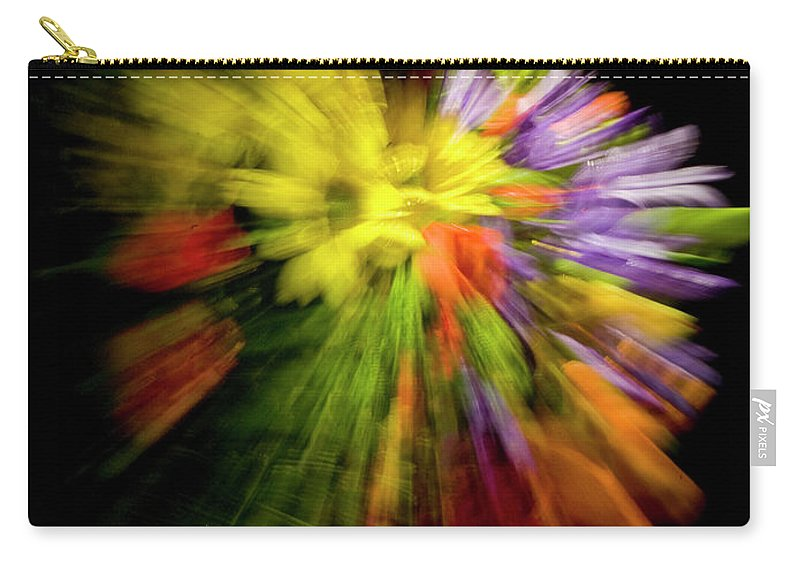 Flowers Carry-all Pouch featuring the photograph Floral Explosion by Frederic A Reinecke