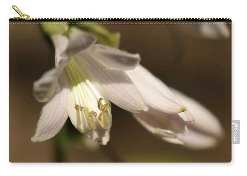 Flower Carry-all Pouch featuring the photograph Floral Sideview by Jeff Swan
