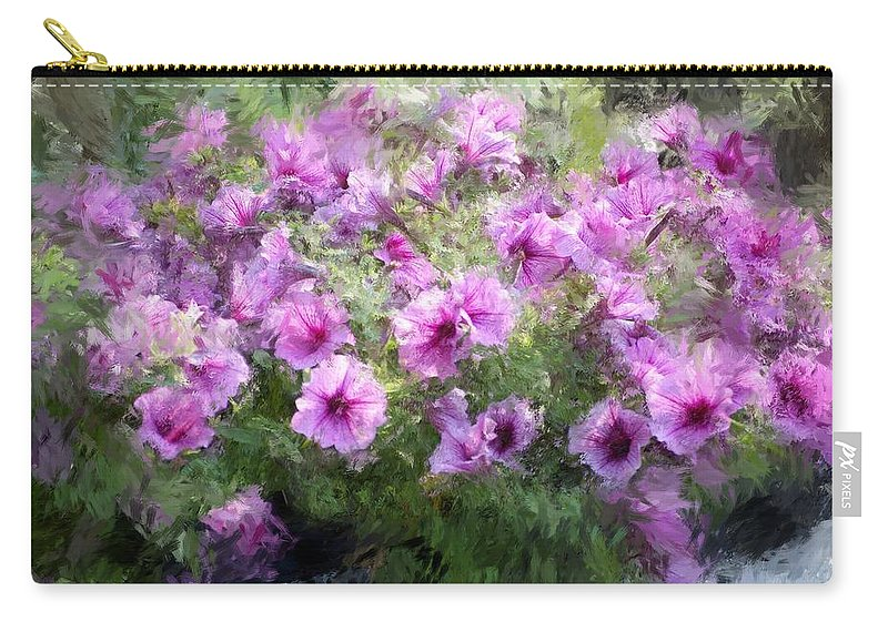 Digital Photography Carry-all Pouch featuring the photograph Floral Study 053010 by David Lane