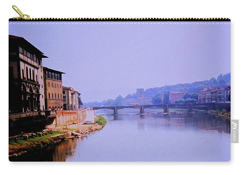 Florence Carry-all Pouch featuring the photograph Florence by Ian MacDonald