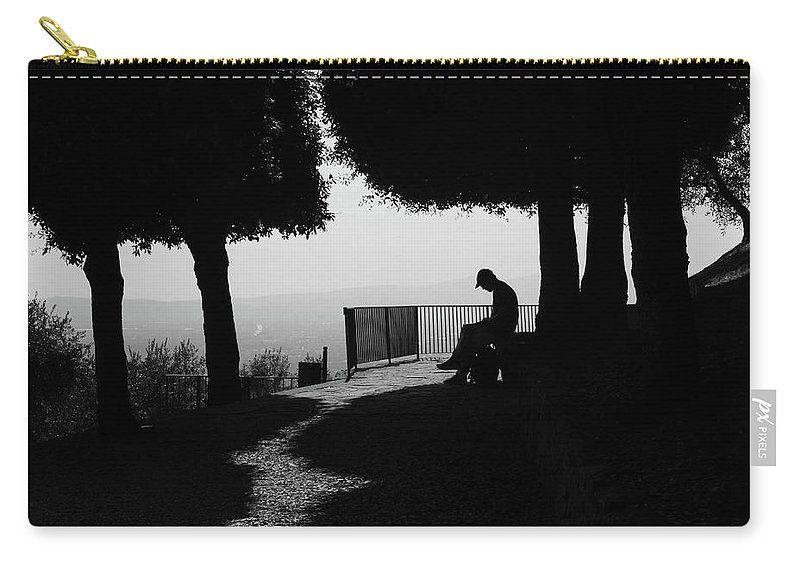 Michaela Sieberova Carry-all Pouch featuring the photograph Florence Moods, 8887, Vii/2013 by Michaela Sieberova