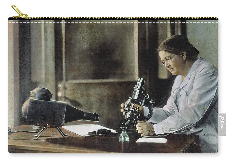 1928 Carry-all Pouch featuring the photograph Florence Rena Sabin by Granger