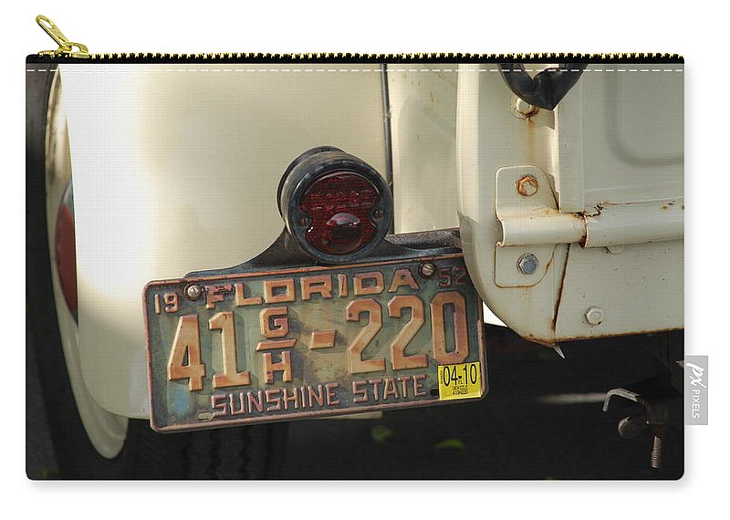 Truck Carry-all Pouch featuring the photograph Florida Dodge by Rob Hans