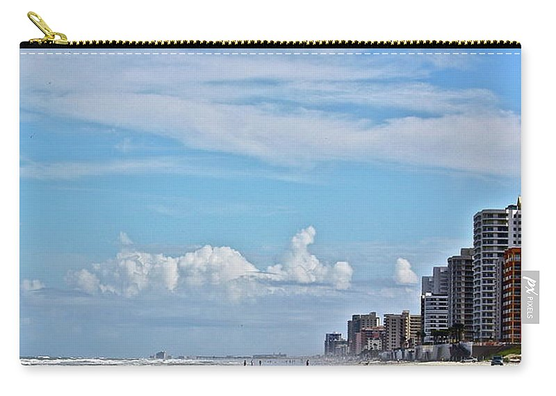 Beach Carry-all Pouch featuring the photograph Florida Fun by Diana Hatcher