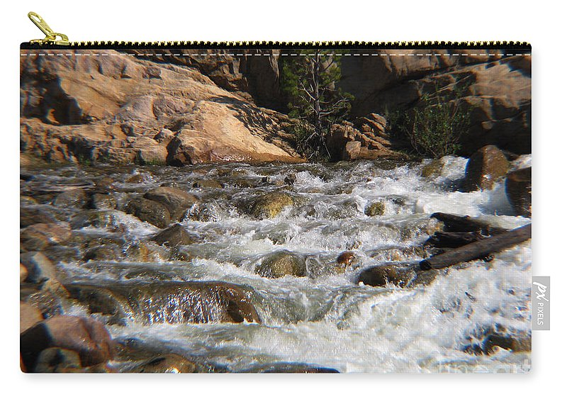 River Carry-all Pouch featuring the photograph Flow by Amanda Barcon
