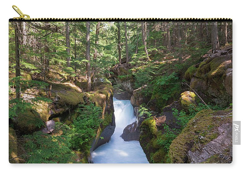 Landscape Carry-all Pouch featuring the photograph Flow by Dan Golden