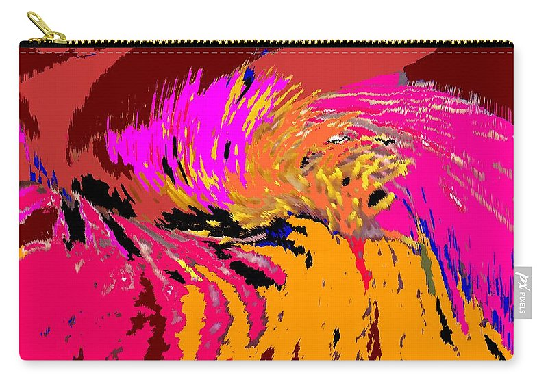 Abstract Carry-all Pouch featuring the digital art Flow by Ian MacDonald