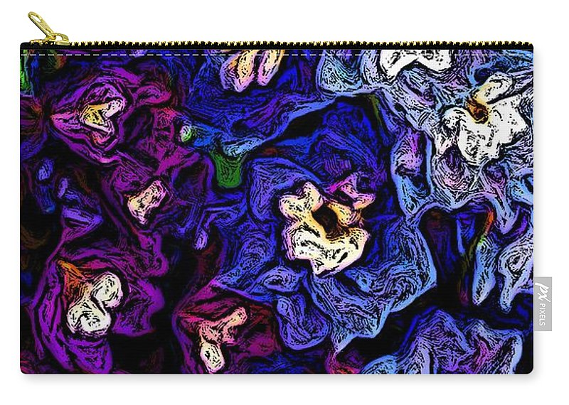 Digital Photo Carry-all Pouch featuring the photograph Flower Arrangement II by David Lane