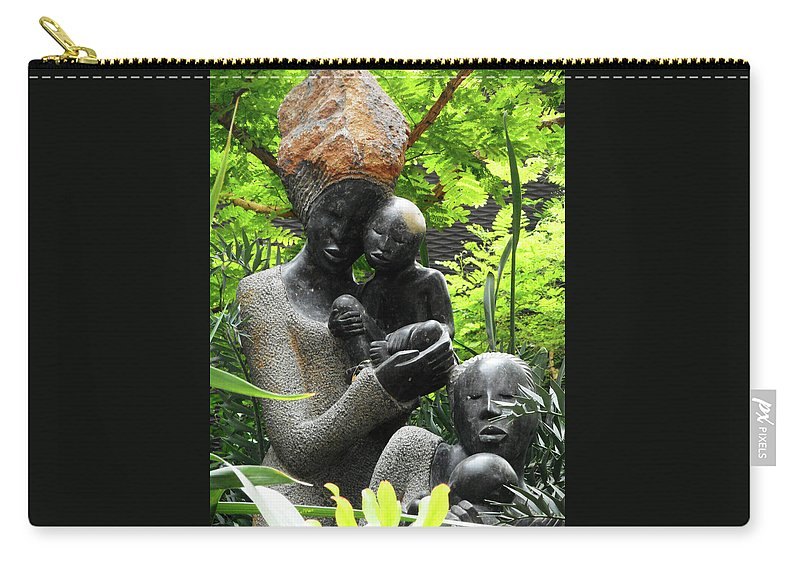 The Dooms Carry-all Pouch featuring the photograph Flower Dome 36 by Ron Kandt