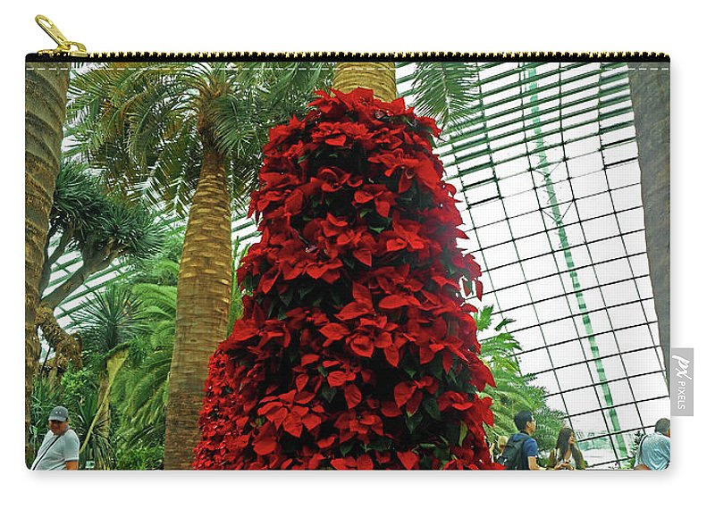 The Dooms Carry-all Pouch featuring the photograph Flower Dome 45 by Ron Kandt