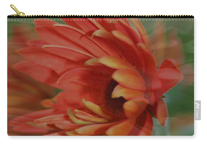 Flowers Carry-all Pouch featuring the photograph Flower Dreams by Linda Sannuti