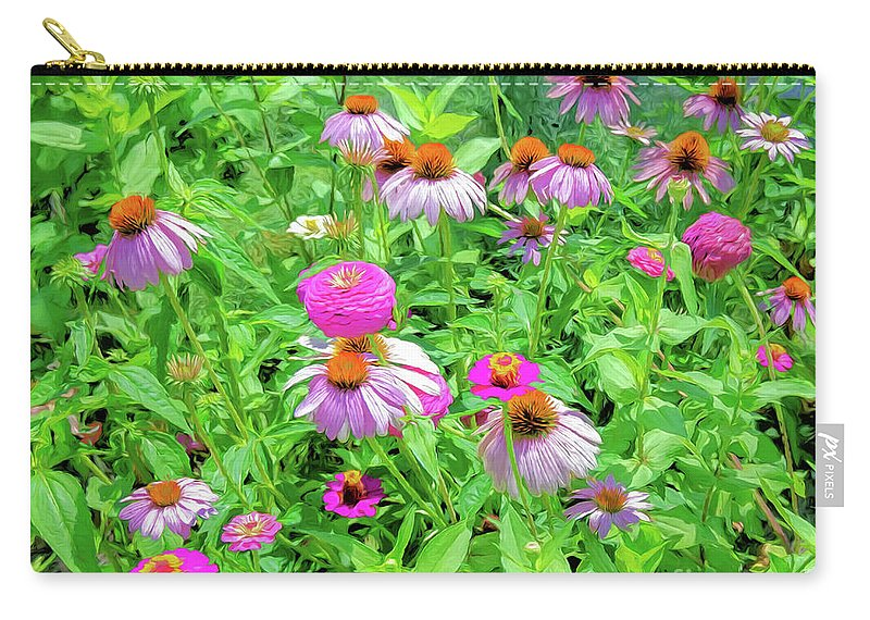 Garden Carry-all Pouch featuring the photograph Flower Patch by Kathleen K Parker