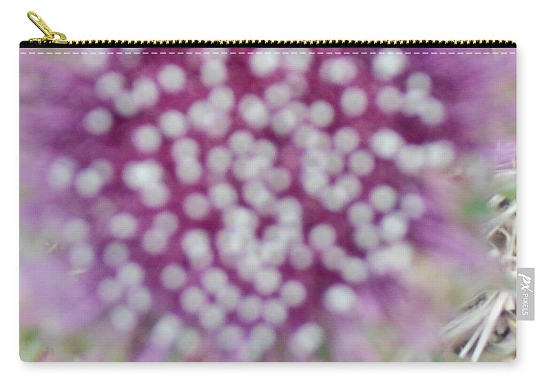 Flower Photograph2 Carry-all Pouch featuring the photograph Flower Photograph2 by Catherine Lott