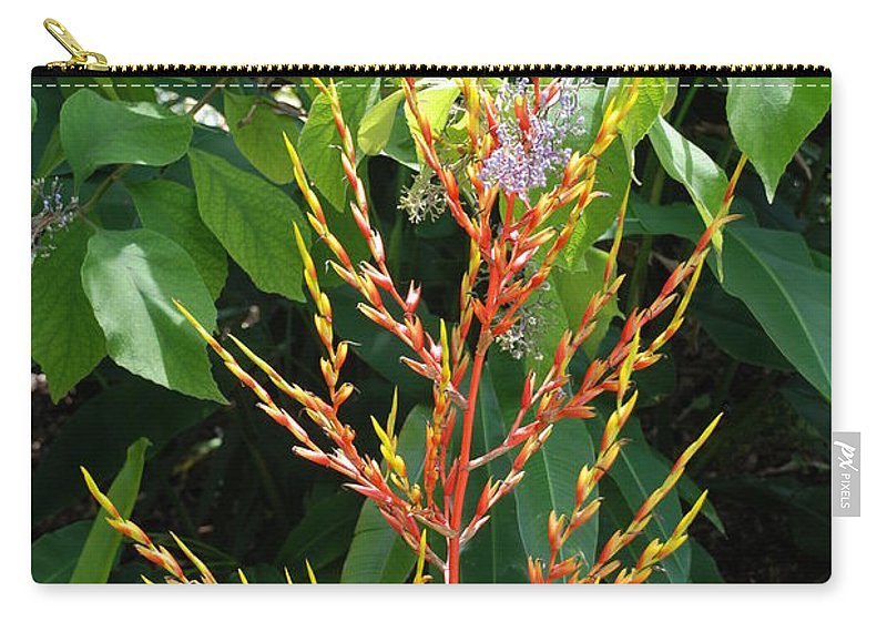 Macro Carry-all Pouch featuring the photograph Flower Plants by Rob Hans