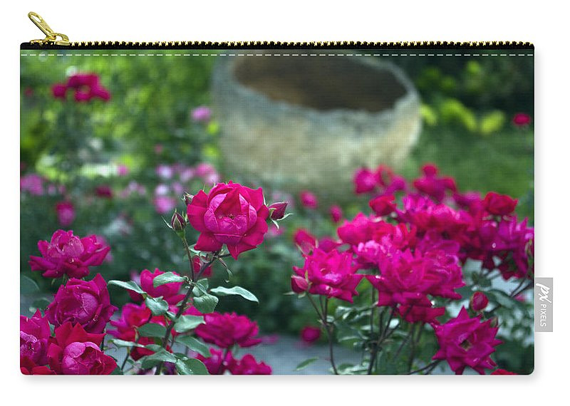 Flowers Carry-all Pouch featuring the photograph Flowering Landscape by Scott Wyatt