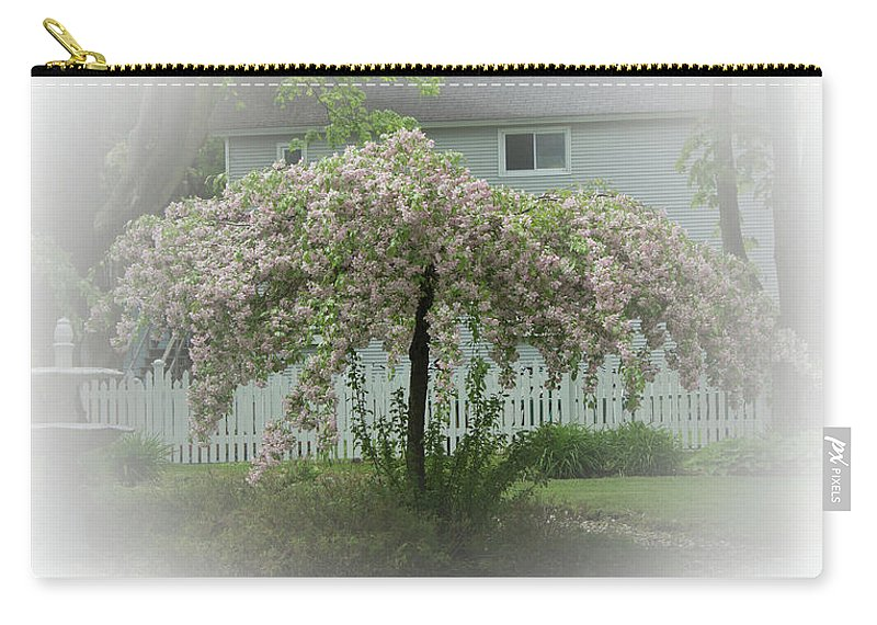 #flowering Tree Carry-all Pouch featuring the photograph Flowering Tree By Earl's Photography by Earl Eells a