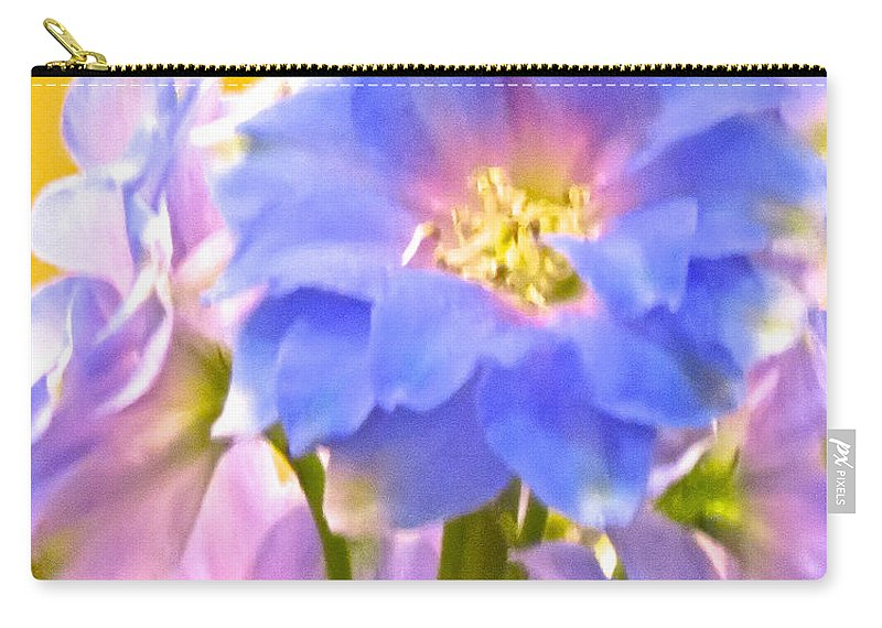 Flowers Carry-all Pouch featuring the photograph Flowers 38 by Ken Lerner