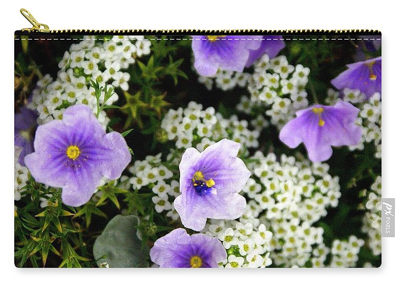 Flowers Carry-all Pouch featuring the photograph Flowers Etc by Marty Koch