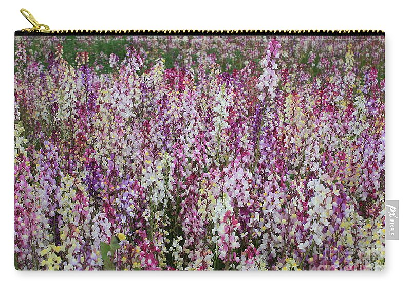 Field Of Flowers Carry-all Pouch featuring the photograph Flowers Forever by Carol Groenen