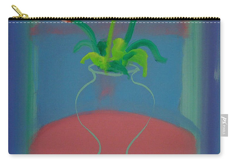 Dufy Carry-all Pouch featuring the painting Flowers In A Bay Window by Charles Stuart