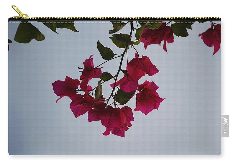 Flowers Carry-all Pouch featuring the photograph Flowers In The Sky by Rob Hans