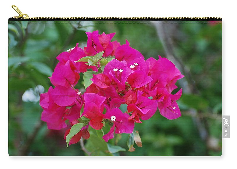 Flowers Carry-all Pouch featuring the photograph Flowers by Rob Hans