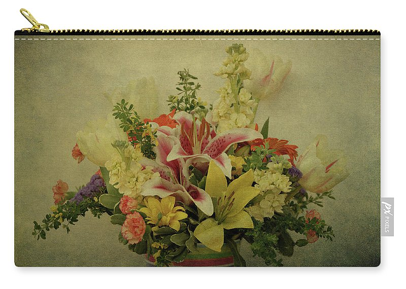 Flowers Carry-all Pouch featuring the photograph Flowers by Sandy Keeton