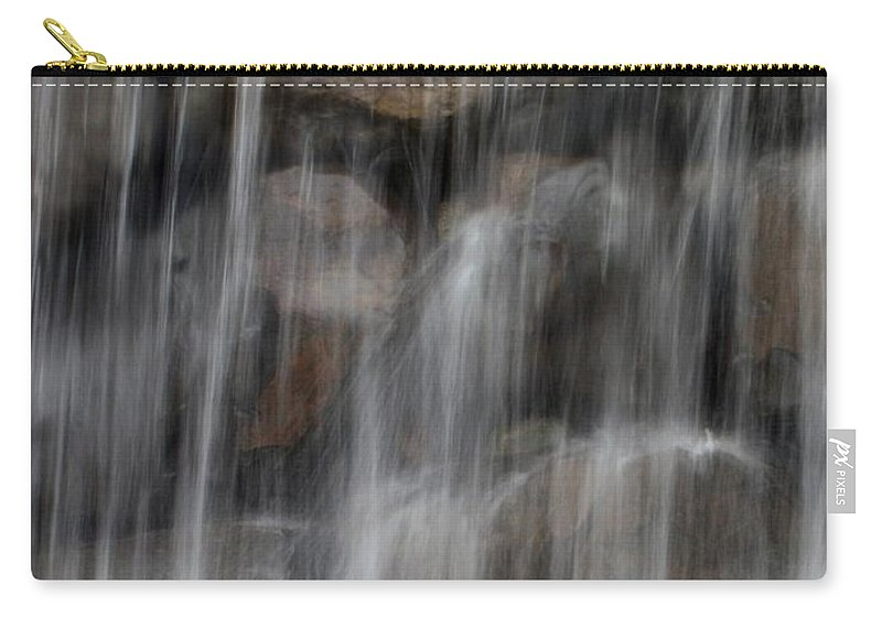 Water Carry-all Pouch featuring the photograph Flowing Veil by Carol Groenen