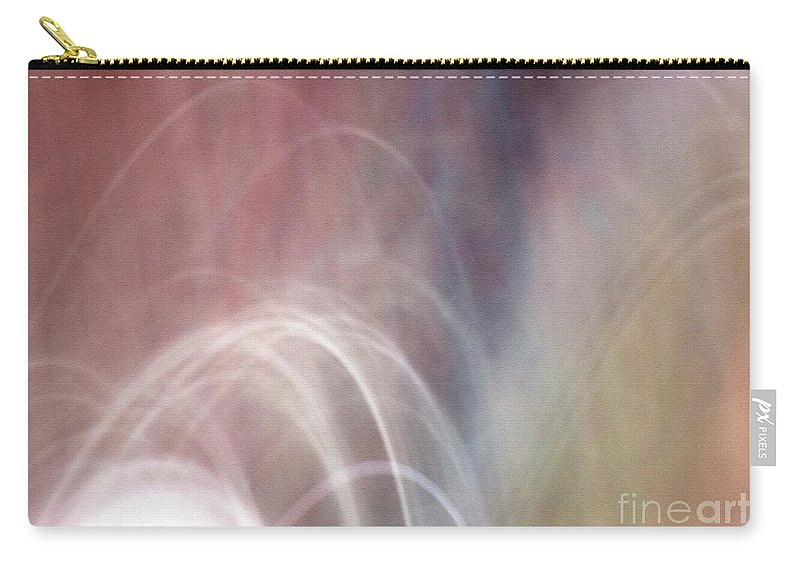 Abstract Carry-all Pouch featuring the photograph Fluency by Dorothy Hilde