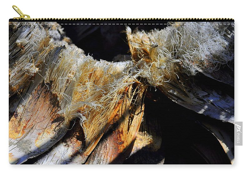 Tree Trunk Carry-all Pouch featuring the photograph Fluffy Trunk by Shannon Nickerson