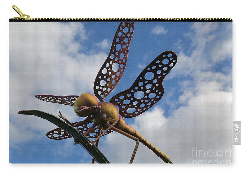 Sky Carry-all Pouch featuring the photograph Fly To The Skies by Sandy Henderson