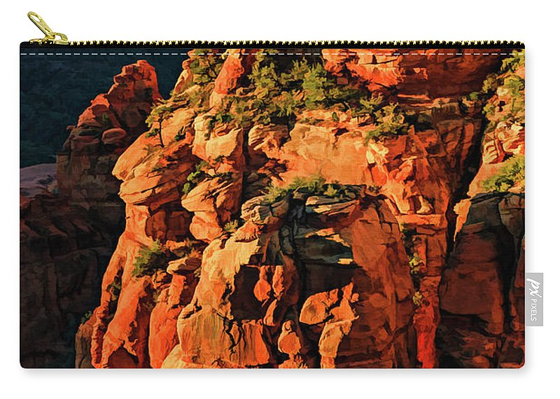 Arizona Carry-all Pouch featuring the photograph Flying Buttress 06-034 by Scott McAllister