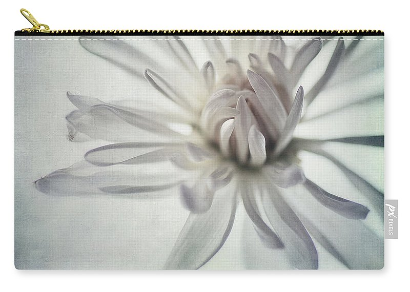 Soft Carry-all Pouch featuring the photograph Focus On The Heart by Priska Wettstein