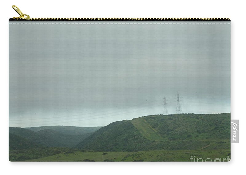 California Carry-all Pouch featuring the photograph Fog In The Sky by Alice Heart